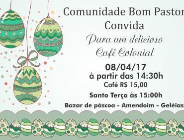 Convite Café Colonial