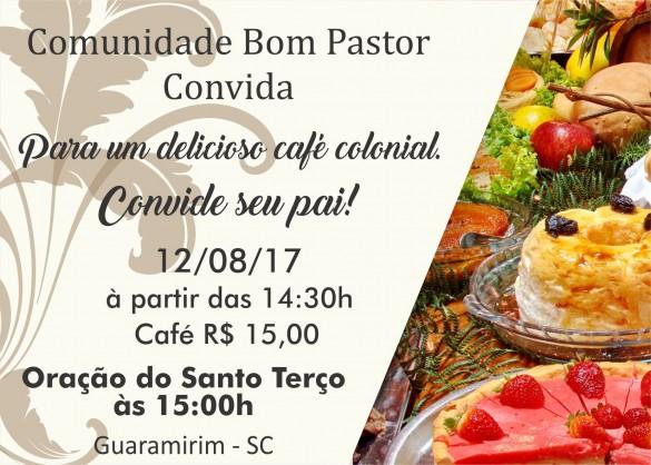 Café Dia dos Pais -AGO 2017