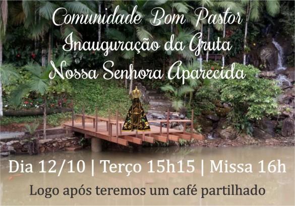 Convite Gruta APARECIDA