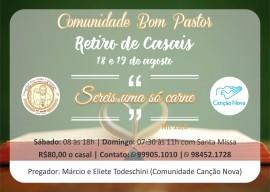 Convite Retiro dos Casais – Comunidade Bom Pastor (1)