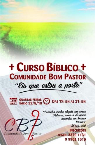 curso biblico 2018
