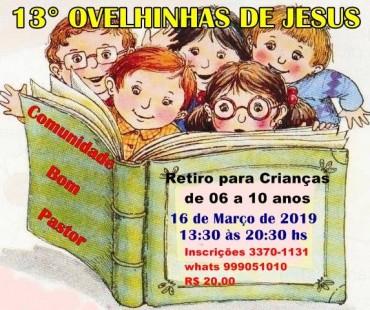 OVELHINHAS DE JESUS 2019