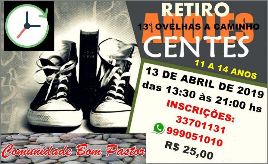 RETIRO ADOLESCENTES 2019