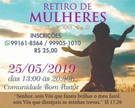 RETIRO MULHERES 2019